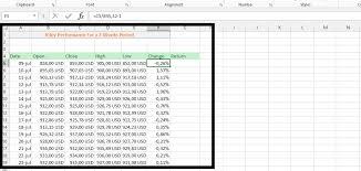 Best Excel Tutorial Volatility Chart