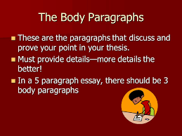the body paragraphs for compare contrast essay ms wellmeyer rhs the body paragraphs these are the paragraphs that discuss and prove your point in your thesis
