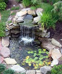 backyard ponds and waterfalls. Plain Waterfalls Landscaping And Outdoor Building  Relaxing Waterfalls Backyard Ponds   With Stones For K