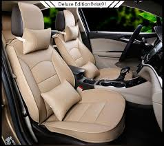 3 d design high quality leather auto seat covers car seat protector set car seats covers