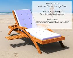 fantastic chaise lounge plans with 05 wc 0633e maritime chaise lounge chair woodworking plan