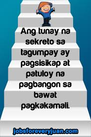 Inspirational Quotes Motivational Quotes Filipino Quotes Quotes