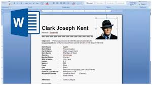 How To Make Resume On Word