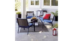 crate and barrel patio furniture. AlfrescoCollectionAV2OFRG15. AlfrescoSofawThckCshnMedBlueS16 Crate And Barrel Patio Furniture I