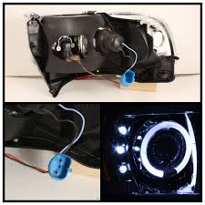 xenon 94 01 dodge ram truck angel eye halo & led projector 2010 Dodge Ram Headlight Wiring Harness hid xenon 94 01 dodge ram truck angel eye halo & led projector headlights black 2010 dodge ram headlight wiring diagram