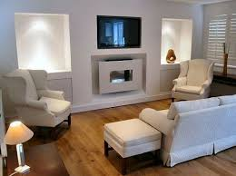 Alluring Living Room Design With Fireplace And Tv and Living Room