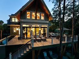 Lake House Designs Dream Home Deck Small Lake Cabin Designs