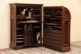 victorian office furniture. Moore Victorian Antique Quot Office Queen Walnut Cabinet Desk Pat Furniture A