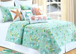 sea glass comforter set coastal themed quilts bedding king quilt sea glass bedspreads and beach twin sea glass comforter