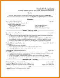 10 Ma Resume Template The Stuffedolive Restaurant
