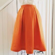 Box Pleat Skirt Pattern