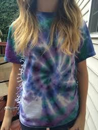 Tie Dye Shirt Swirl Design Swirl Tie Dye Shirt 8 Steps With Pictures