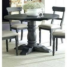 pottery barn round dining table barn dining tables the gray barn downs weathered pepper finish round