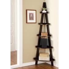 Corner Bookcase Plans Interesting Corner Ladder Bookshelf Plans Pictures Decoration