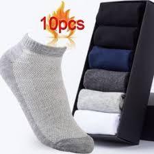 5Pairs /lot Men's Cotton Socks Summer Thin Breathable ... - Vova