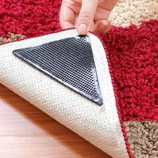 hot 8 non slip rug grips mats pad reusable washable suction grip gripper target