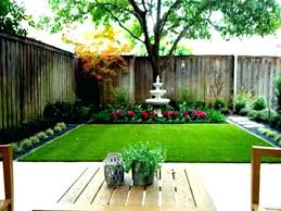 Landscape Designs For Small Backyards New Decoration