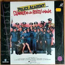 Police Academy 1 bis 6 auf Laserdisc (LD) in Kiel - Suchsdorf