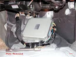 ecu location subaru forester owners forum click image for larger version plate off jpg views 16288 size