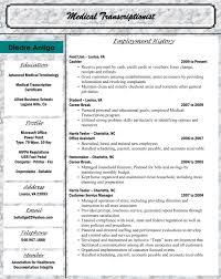 Medical Transcription Resume Samples Medical Transcription Resume Samples Sidemcicek Com Site Image 5