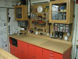garage workshop woodworking. north wall of garage workshop. the a/c unit on hardly made workshop woodworking a