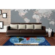 map area rug supreme kids world classroom blue road us rugby surrounding map area rug