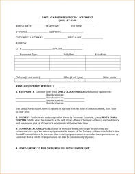 One Page Lease Agreement Template Basic Lease Agreement Template Free Simple Land