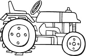 Beautiful Tractor Coloring Page 48 Artsybarksy