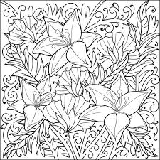 Calming Coloring Sheets Free For Kids To Print Out Spring Printable