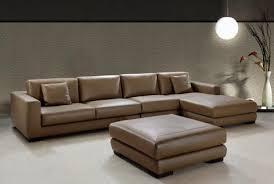 ... Pleasant Large Leather Corner Sofa For Your Home Interior Design  Remodel with Large Leather Corner Sofa ...