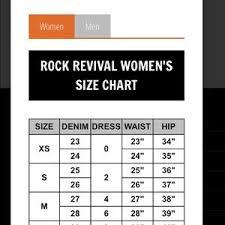 Rock Revival Size Chart Rock Revival Elaina Boot Cut Jeans