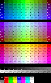 Hex Color Code With Image Color In 2019 Hex Color Codes