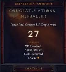 Greater Rifts Diablo Wiki