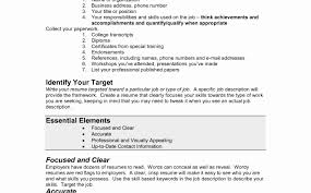 Free Online Job Resume 100 Elegant Photograph Of Free Online Resume Templates Resume 63