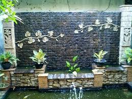 wall waterfalls