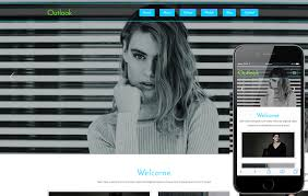 Outlook Templates Free Outlook A Fashion Category Flat Bootstrap Responsive Website