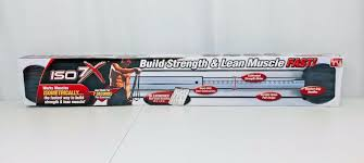 Iso 7x Muscle Body Building Workout Bar With Isometric Home Gym Wow 735541608094