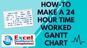 Hourly Gantt Chart Excel Template Free Easybusinessfinance Net