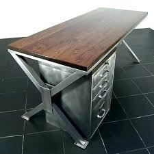 industrial style office desk. Industrial Style Home Office Furniture Retro Design With Half Round . Desk D