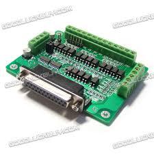 cnc db25 breakout board adapter mach3 kcam4 emc2 6 axis 39 32 cnc db25 breakout board adapter mach3 kcam4 emc2 6 axis