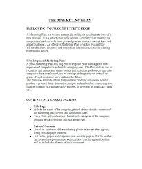 Proposal Sample Doc Best Free Marketing Plan Template Document Doc Peekinco
