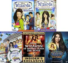 Wizards of waverly place volume 1. Wizards Of Waverly Place Disney Tv Series Complete Movie Collection New Dvd Set Ebay