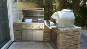 casey key outdoor kitchen with lynx grill lynx pizza oven