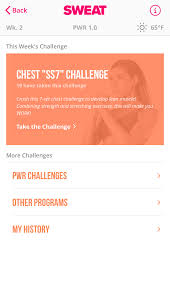 the pwr program now includes 23 new challenges that are organized by difficulty level when in the app you ll see a new orange colored block at the top