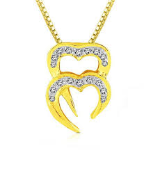 sparkles artistically crafted heart shaped diamond pendant