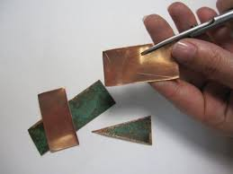 how to cut copper sheet for jewelry 233 best koper images on pinterest tools copper and craft