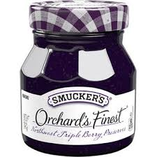b smucker s orchard s finest b northwest triple berry preserves