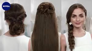 Frisuren F R Glatte Haare Nivea Hair Youtube