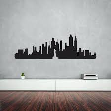 new york city metal wall art