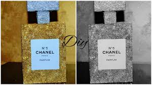 How To Decorate Perfume Bottles DIY Chanel Room Decor Gift Ideas Beautyofmakeup100 YouTube 27